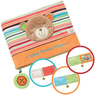 baby fehn oskar babys erstes fotobuch teddy bunt bei. Black Bedroom Furniture Sets. Home Design Ideas