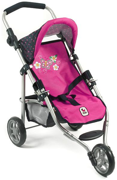 Mini Puppenjogger Lola (Dots Navy-Pink) [Kinderspielzeug]