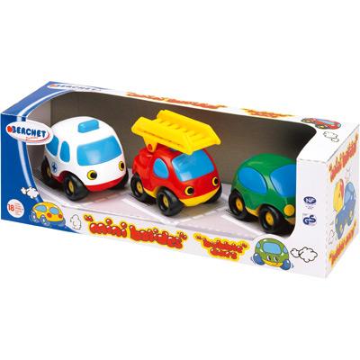 Smoby Vroom Planet Mini-Flitzer-Set Rettung