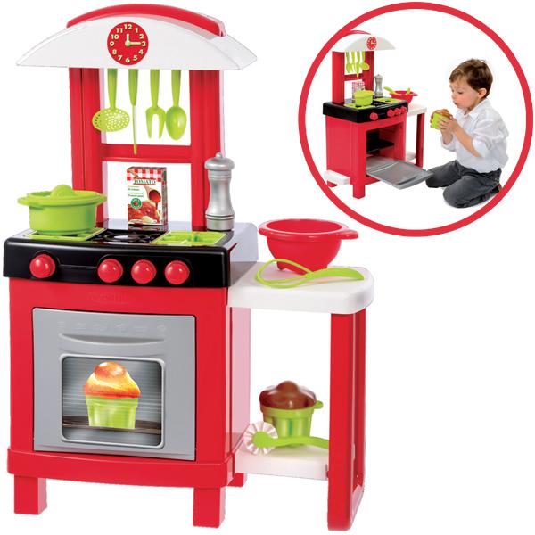 meine erste k che rot kinderspielzeug. Black Bedroom Furniture Sets. Home Design Ideas