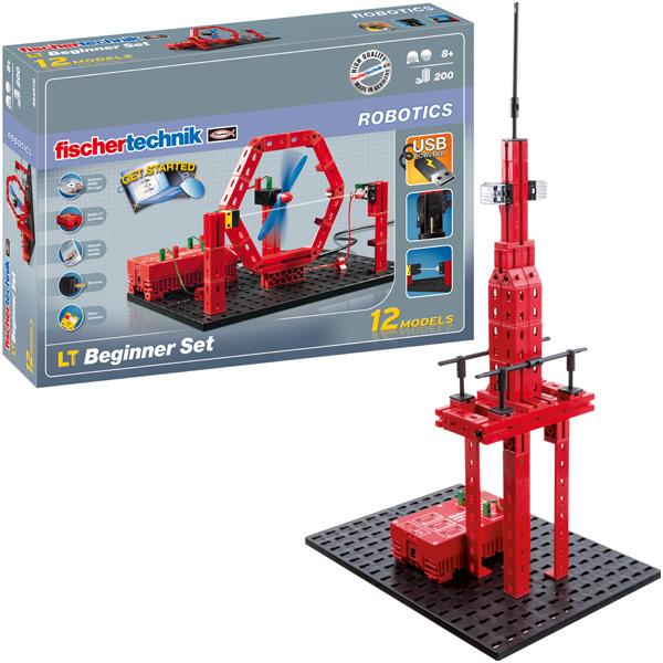 Fischertechnik Robotics LT Beginner Set [Kinderspielzeug]