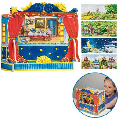 Fingerpuppentheater [Kinderspielzeug]