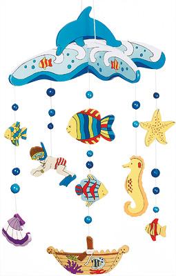 Holzmobile Unterwasserwelt [Babyspielzeug]