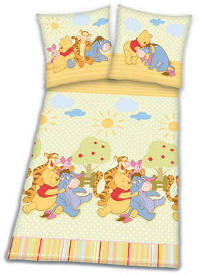 Herding Bettwsche Winnie the Pooh (Bunt) [Kinderspielzeug &gt; Kinderbettwsche]