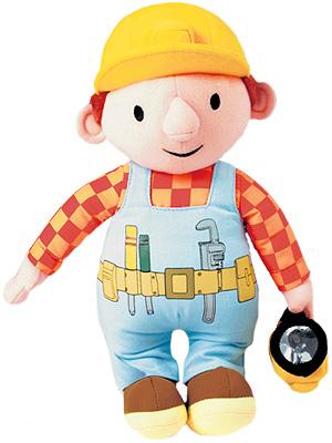 Bob der Baumeister Schmuse-Bob mit Taschenlampe