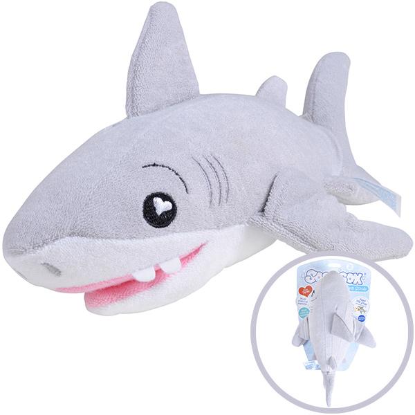 Knorrtoys SoapSox Kuschelfreund und Badeschwamm Hai [Babyspielzeug]