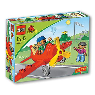 Lego Lego Duplo Ville Propellerflugzeug 5592