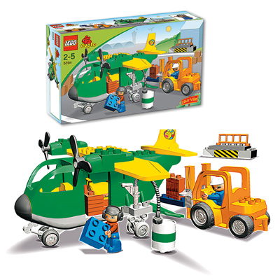 Lego Lego Duplo Ville Frachtflugzeug 5594