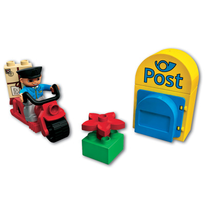 Lego Lego Duplo Ville Postbote 5638