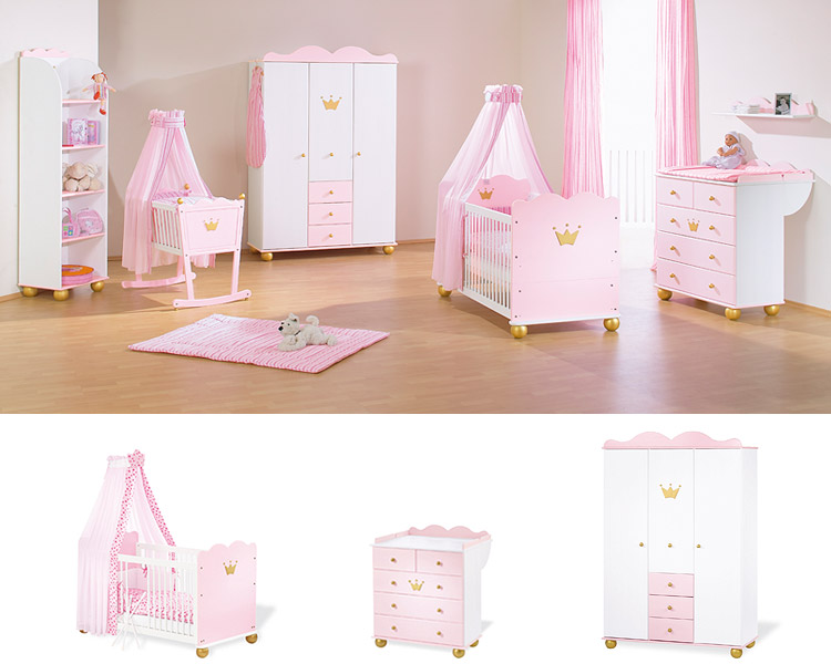 gestalten rosa kinderzimmer kleine prinzessin gestalten sie rosa kinderzimmer fur kleine. Black Bedroom Furniture Sets. Home Design Ideas