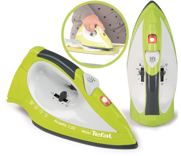 smoby mini tefal b geleisen mit ger uschen kinderspielzeug von smoby ean 03032160240948. Black Bedroom Furniture Sets. Home Design Ideas