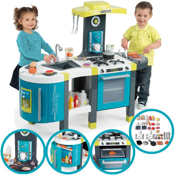 Mini Tefal Elektronische Küche French Touch (Türkis) [Kinderspielzeug]