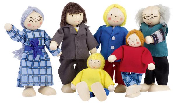 Puppenhaus Holz 30 Cm Puppen ~ kinderspielzeug puppenhaus goki puppenhaus puppen city familie 3