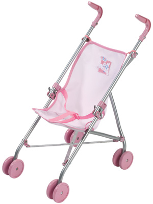 Zapf Creation Baby Born Stroller (Rosa) [Kinderspielzeug]