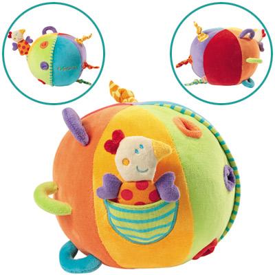 Explorer Großer Activity Ball mit Glöckchen (Bunt) [Babyspielzeug]