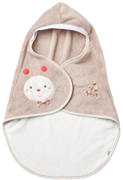baby-fehn-garden-dreams-einschlagdecke-biene-braun-babyspielzeug-
