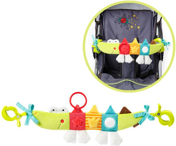 baby-fehn-jungle-heros-kinderwagenkette-krokodil-babyspielzeug-