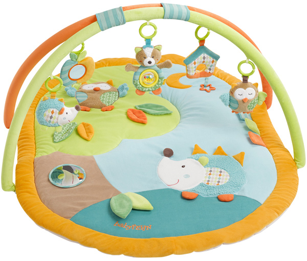 Baby Fehn Sleeping Forest 3-D Activity Spieldecke Igel und Eule ...
