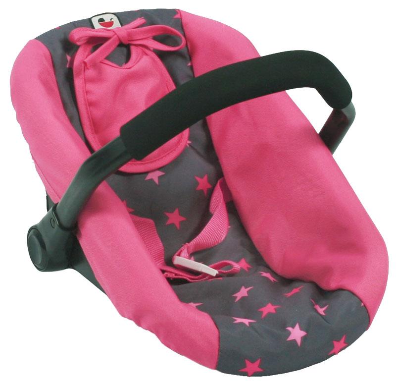 bayer-chic-2000-puppenautositz-mit-latzchen-sternchen-pink-kinderspielzeug-