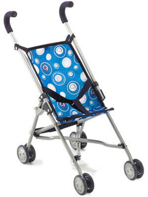 Bayer Chic 2000 Puppenbuggy Roma (Blau) [Kinderspielzeug]