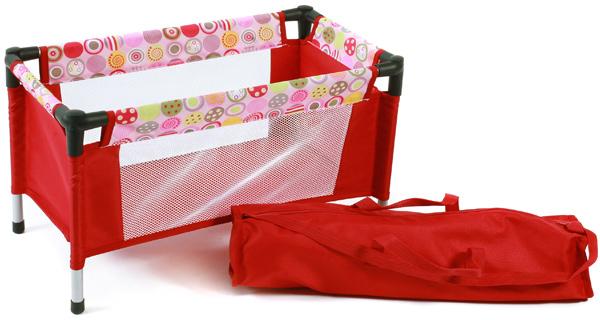 Bayer Chic 2000 Puppenreisebett mit Tasche (Ruby Red) [Kinderspielzeug] - Preisvergleich