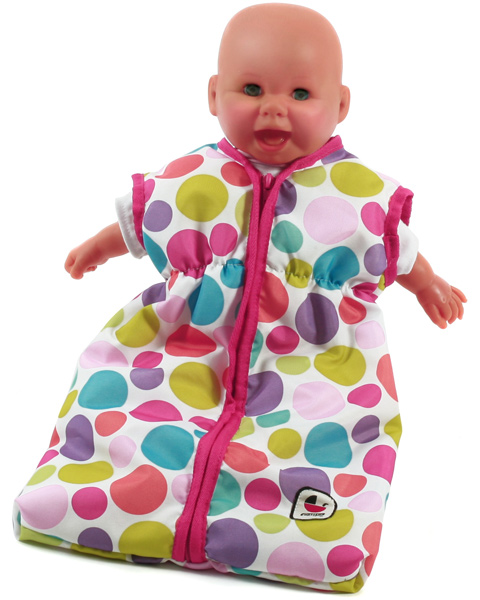 bayer-chic-2000-puppenschlafsack-pinky-bubbles-kinderspielzeug-
