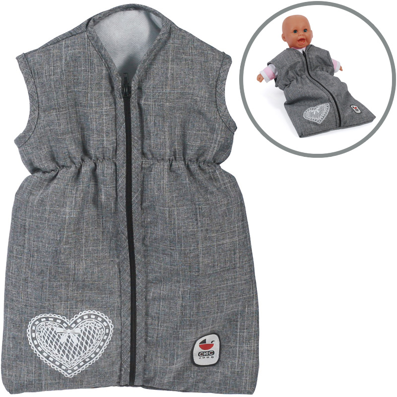 bayer-chic-2000-puppenschlafsack-jeans-grey-kinderspielzeug-