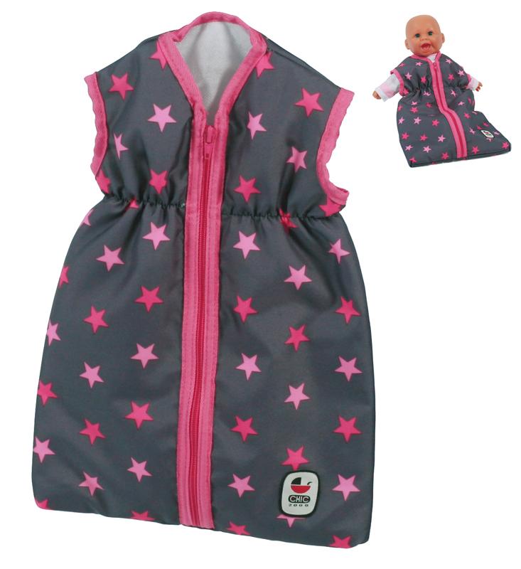 bayer-chic-2000-puppenschlafsack-sternchen-pink-kinderspielzeug-