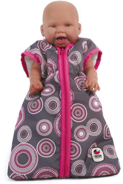 bayer-chic-2000-puppenschlafsack-hot-pink-pearls-kinderspielzeug-