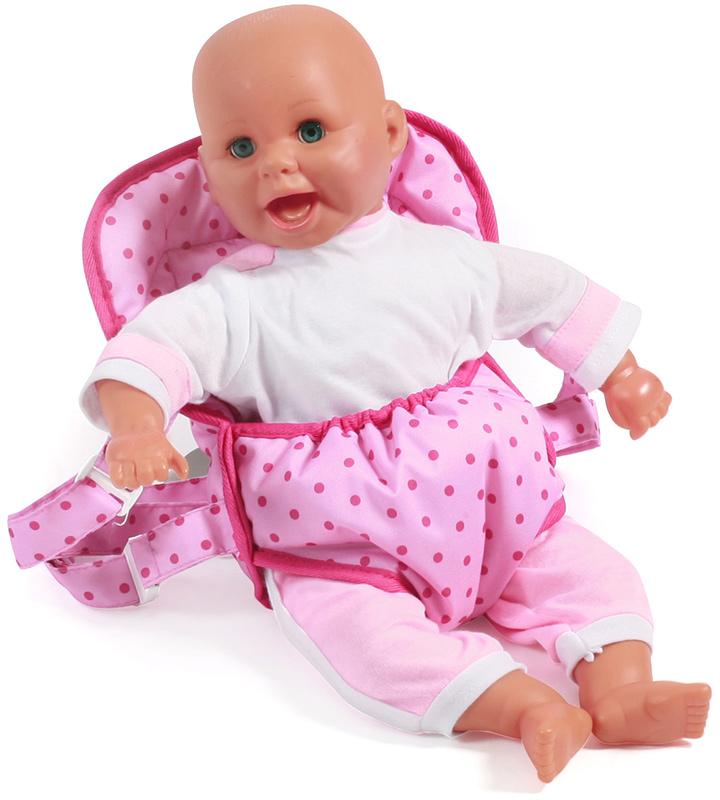 bayer-chic-2000-puppentragegurt-deluxe-dots-pink-kinderspielzeug-