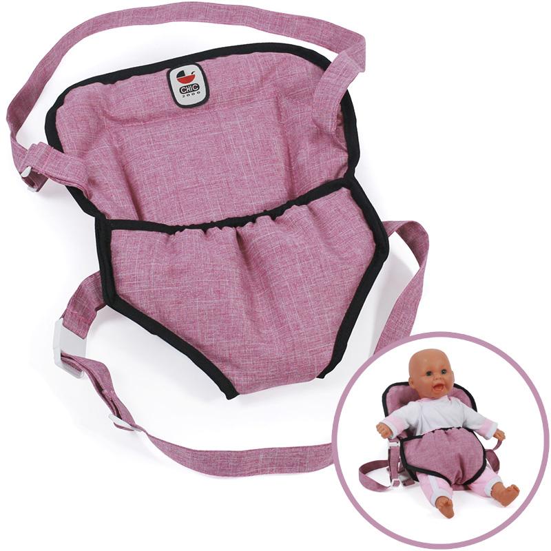 bayer-chic-2000-puppentragegurt-deluxe-jeans-pink-kinderspielzeug-