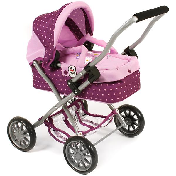 bayer-chic-2000-mein-erster-puppenwagen-smarty-dots-brombeere-kinderspielzeug-