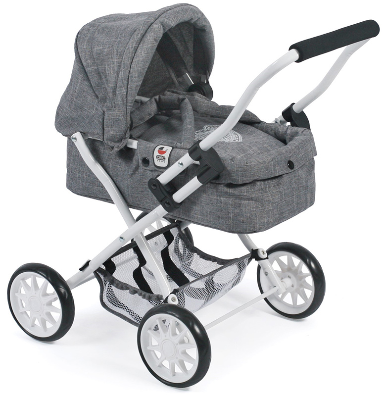 bayer-chic-2000-mein-erster-puppenwagen-smarty-jeans-grey-kinderspielzeug-, 29.95 EUR @ spielzeug24