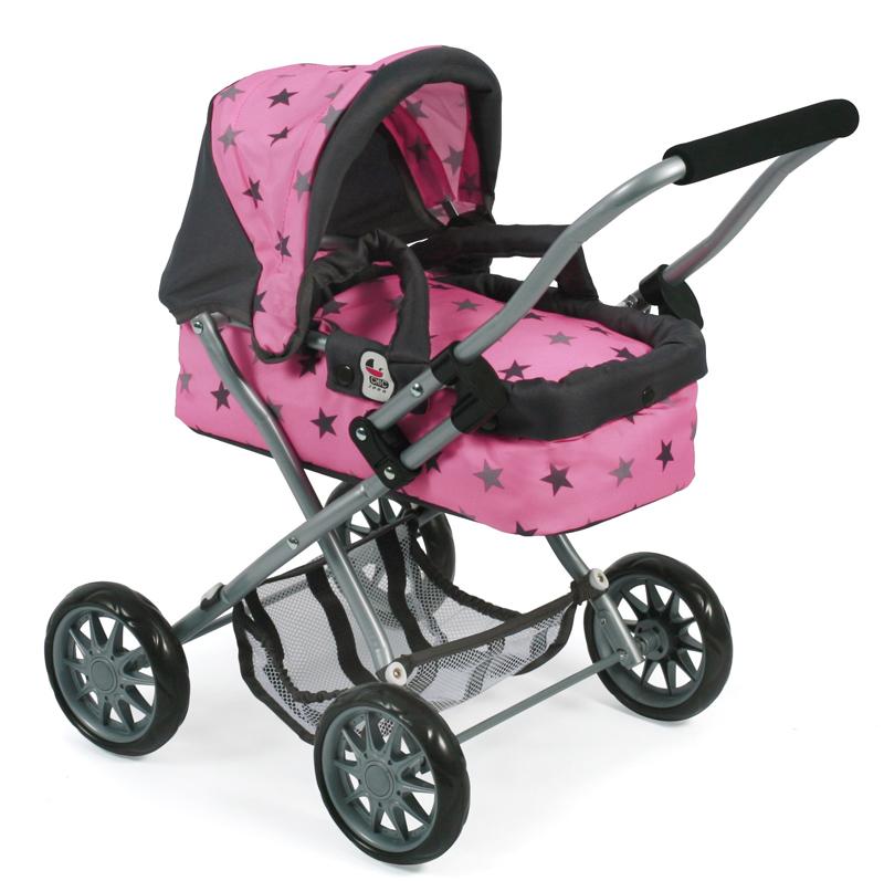 bayer-chic-2000-mein-erster-puppenwagen-smarty-sternchen-grau-kinderspielzeug-