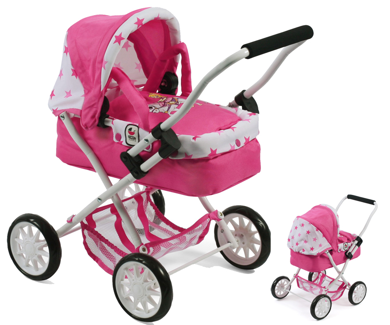 bayer-chic-2000-mein-erster-puppenwagen-smarty-pony-princess-kinderspielzeug-
