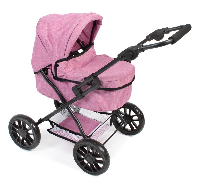 bayer-chic-2000-puppenwagen-picobello-jeans-pink-kinderspielzeug-