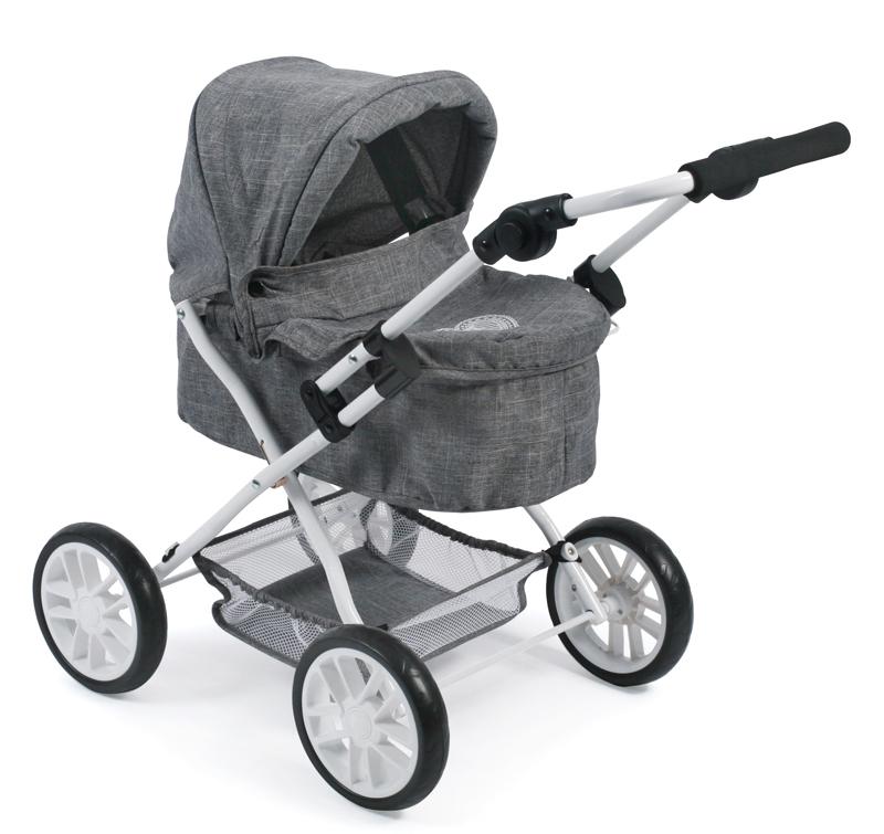 bayer-chic-2000-puppenwagen-picobello-jeans-grey-kinderspielzeug-