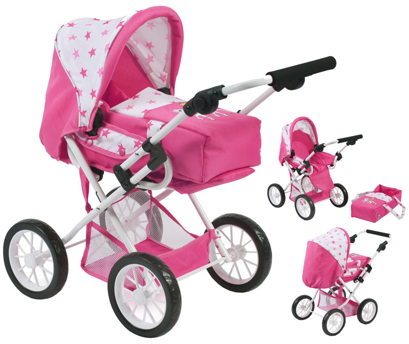 bayer-chic-2000-puppenwagen-leni-pony-princess-kinderspielzeug-