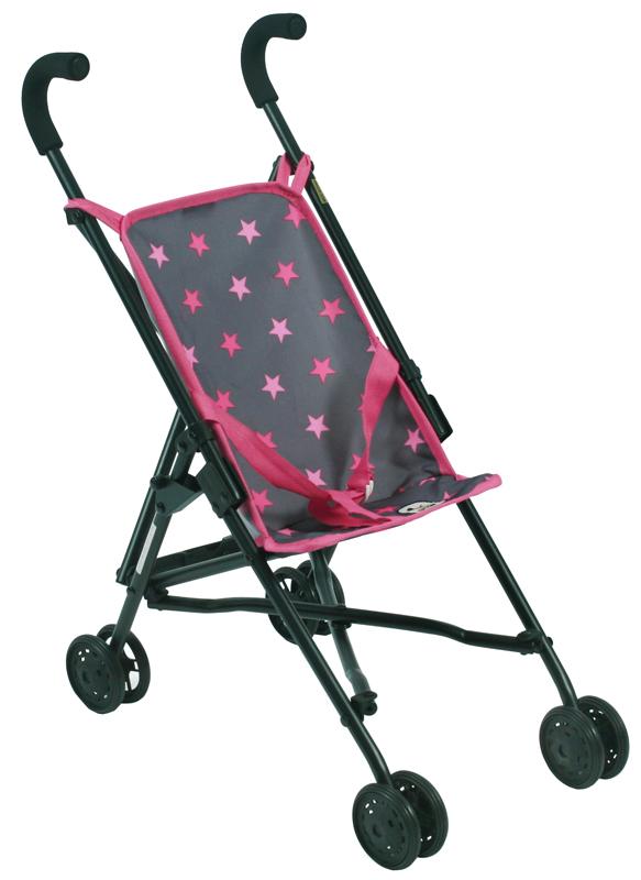 bayer-chic-2000-puppenbuggy-roma-sternchen-pink-kinderspielzeug-