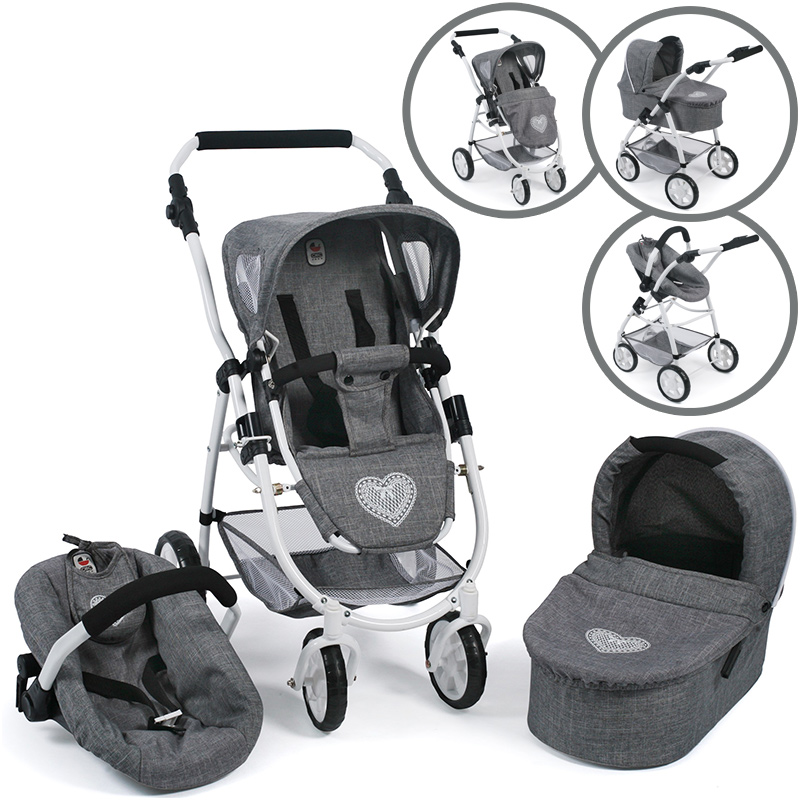 bayer-chic-2000-puppenwagen-emotion-all-in-3in1-jeans-grey-kinderspielzeug-