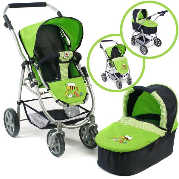bayer-chic-2000-puppenwagen-emotion-2in1-bumblebee-kinderspielzeug-