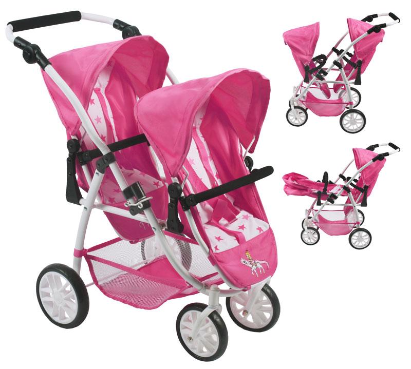 bayer-chic-2000-zwillingspuppenwagen-tandem-buggy-vario-pony-princess-kinderspielzeug-