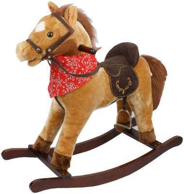 bayer-chic-2000-schaukelpferd-cowboy-mit-sound-hellbraun-kinderspielzeug-