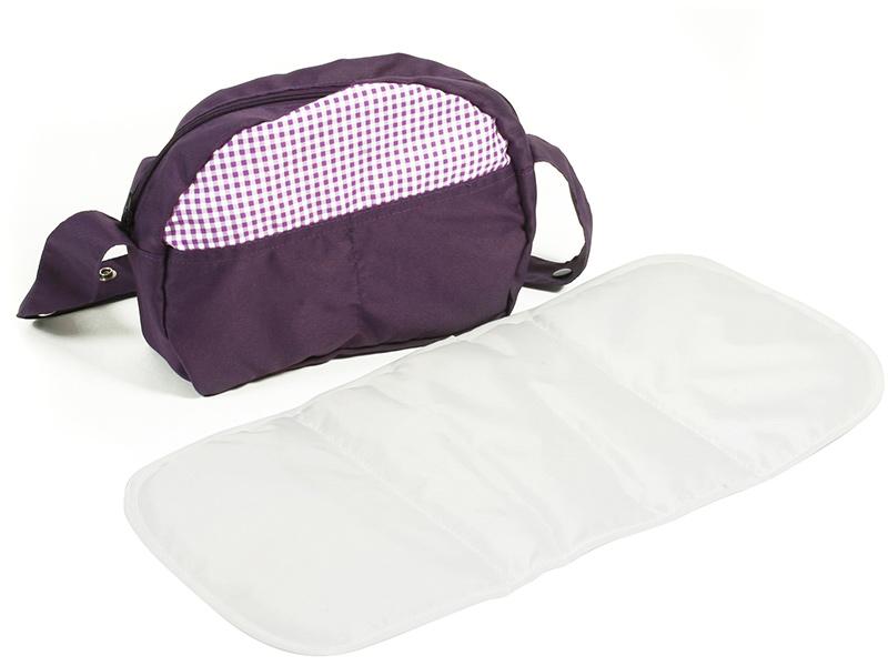 alle bewertungen zu wickeltasche f r puppenwagen purple. Black Bedroom Furniture Sets. Home Design Ideas
