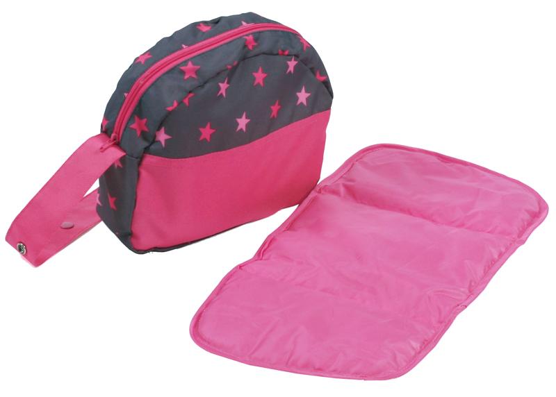 bayer-chic-2000-wickeltasche-fur-puppenwagen-sternchen-pink-kinderspielzeug-