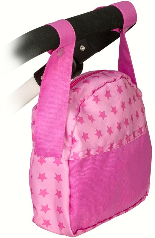Babypuppen & Zubehör Bayer Chic 2000 Wickeltasche für Puppenwagen Puppen & Zubehör Sternchen Pink