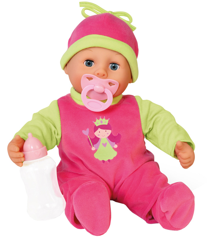 bayer-design-funktionspuppe-first-words-baby-fee-pink-grun-kinderspielzeug-