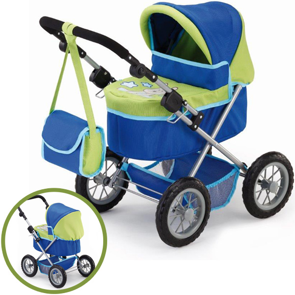bayer-design-mein-erster-puppenwagen-trendy-blau-grun-kinderspielzeug-