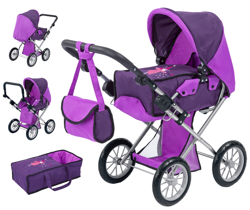 bayer-design-puppenwagen-city-star-lila-kinderspielzeug-