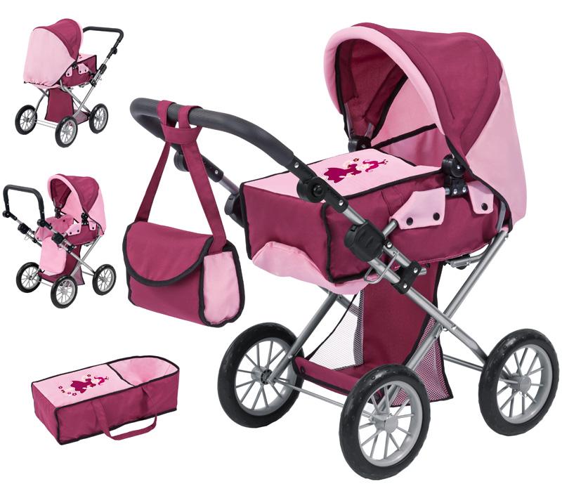 bayer-design-puppenwagen-city-star-bordeaux-kinderspielzeug-